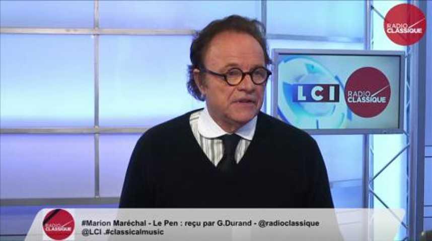 Illustration pour la vidéo Marion Maréchal-Le Pen, «Notre marge de manœuvre se trouve majoritairement dans l'électorat de droite. »