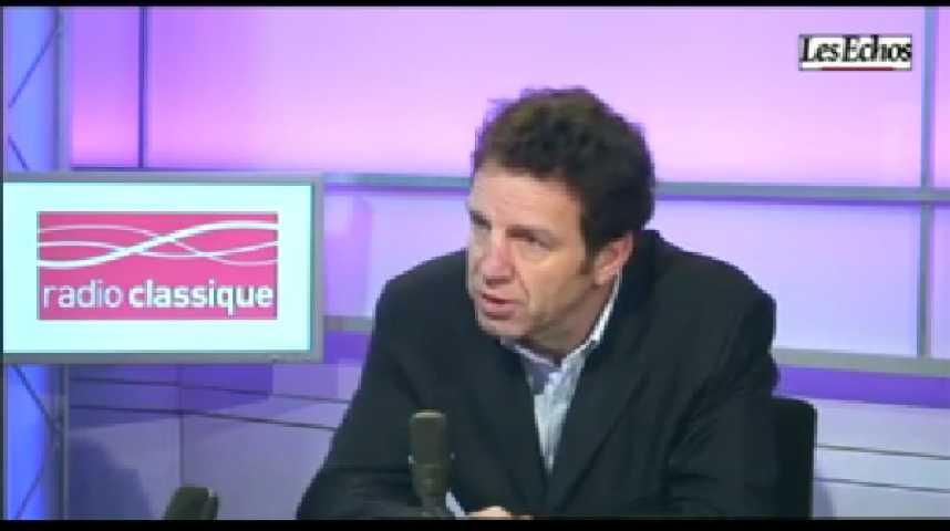 Illustration pour la vidéo L'invité de l'Economie : Geoffroy Roux-Bezieux, Président de Virgin Mobile