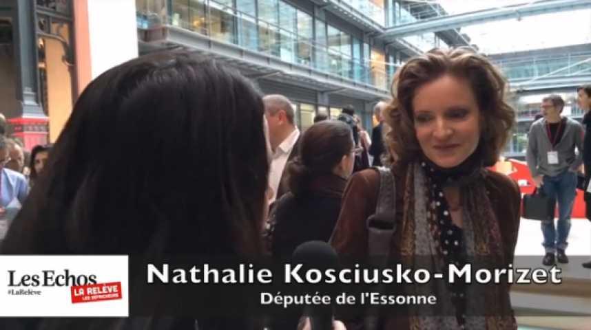"""Illustration pour la vidéo Nathalie Kosciusko-Morizet : """"Ne pas avoir un point de vue d'élue mais de journaliste"""""""