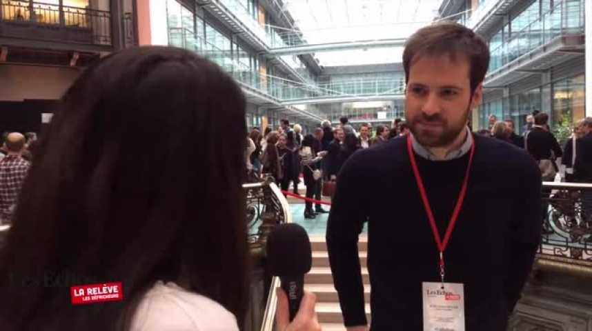"""Illustration pour la vidéo Guillaume Declair : """"Je suis curieux d'être dans la peau d'un vrai journaliste"""""""