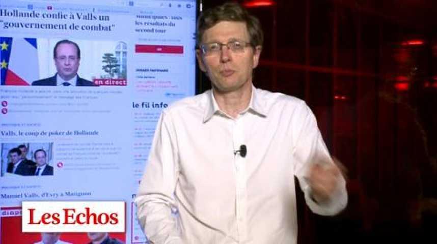 Illustration pour la vidéo Nomination de Valls : Un joli coup de DRH de la part d'Hollande