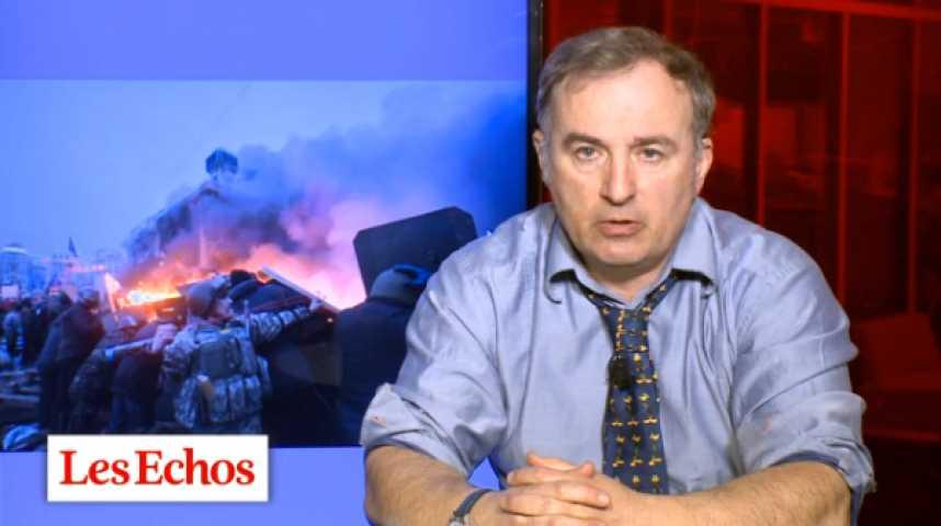 Illustration pour la vidéo Kiev dans l'engrenage de la repression