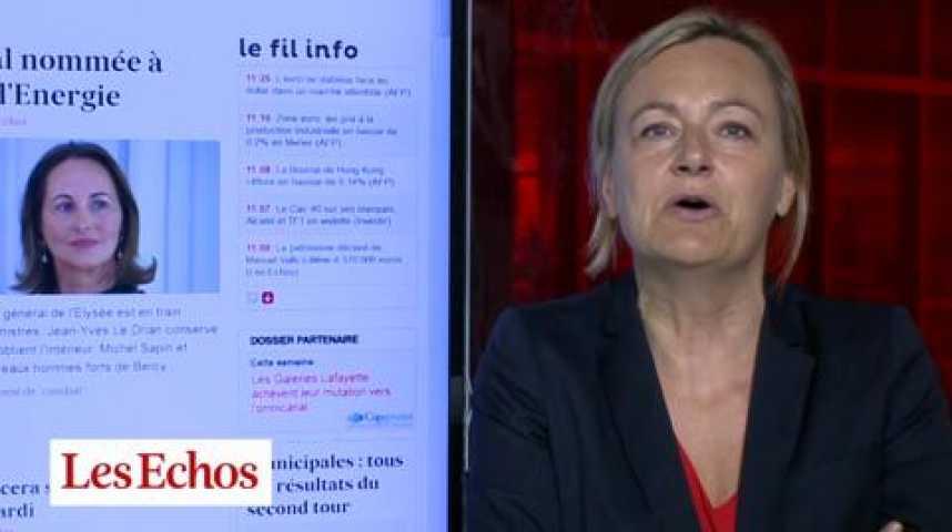 """Illustration pour la vidéo Nouveau gouvernement : """"L'exact compromis entre Valls et Hollande """""""
