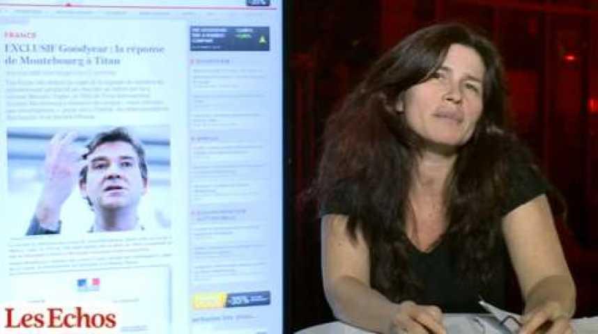 """Illustration pour la vidéo Leïla de Comarmond : """"Arnaud Montebourg n'a décidément pas de chance"""""""