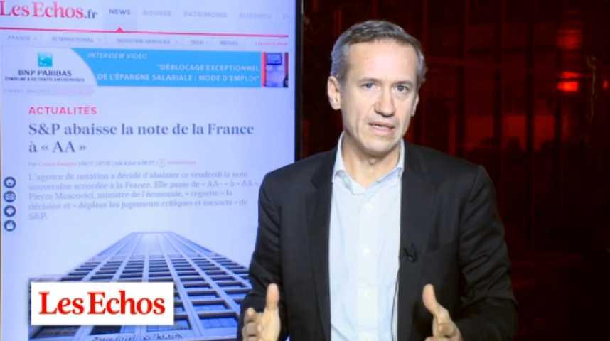 """Illustration pour la vidéo Dégradation : """"la France n'a plus de marge de manoeuvre fiscale"""""""