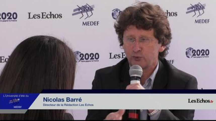 Illustration pour la vidéo Nicolas Barré : Nous avons assisté au discours d'un Premier ministre décomplexé