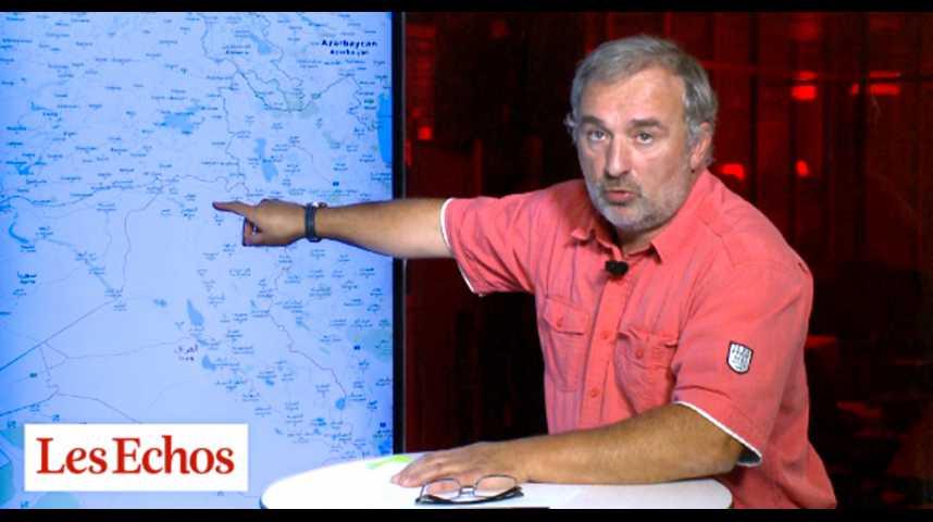 Illustration pour la vidéo Les djihadistes contrôlent un tiers de l'Irak et de la Syrie