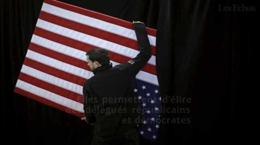 Illustration pour la vidéo Elections américaines : 2 minutes pour comprendre comment ça marche