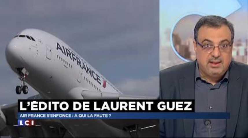 Illustration pour la vidéo Air France s'enfonce : à qui la faute ?