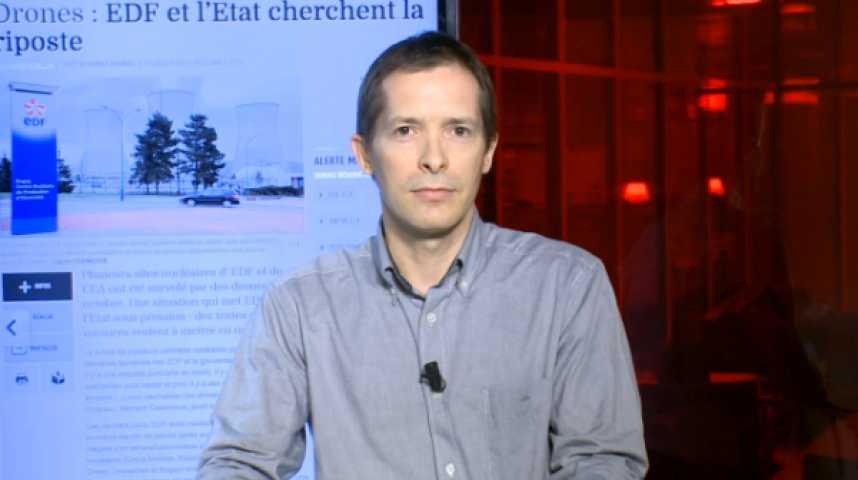Illustration pour la vidéo Le mystère plane sur les centrales nucléaires survolées par des drones