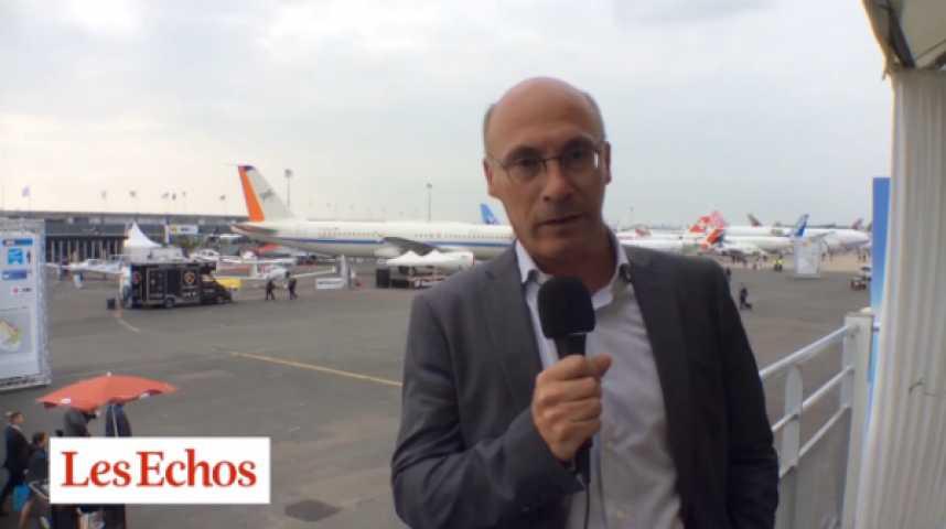 Illustration pour la vidéo Salon du Bourget : le match Airbus-Boeing a commencé