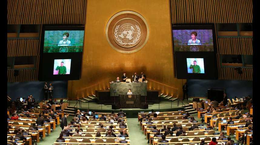 Illustration pour la vidéo ONU : oui, la misère et la faim dans le monde diminuent