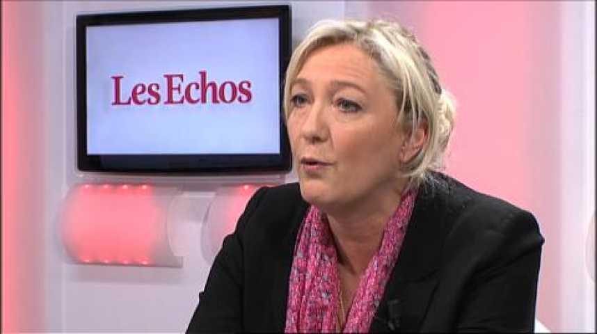 Illustration pour la vidéo Marine Le Pen : « Nous dépasserons les 1.000 conseillers municipaux »