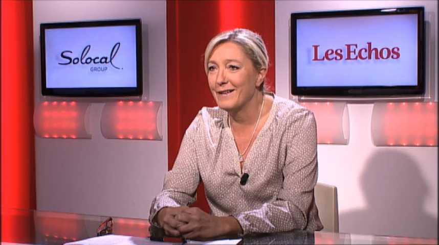 """Illustration pour la vidéo Marine Le Pen : """"Il n'y a que les naïfs pour croire encore à une pause fiscale en 2014"""""""