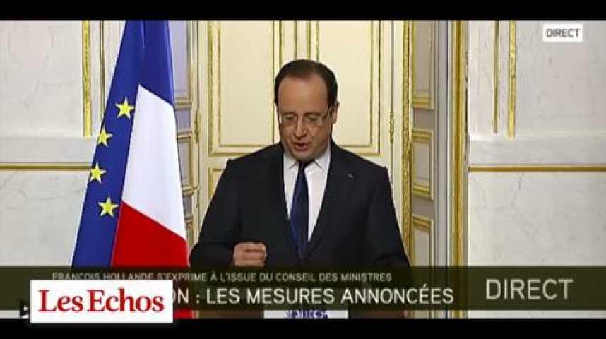 Illustration pour la vidéo Hollande  : transparence à tous les étages