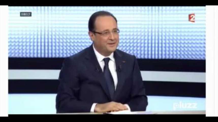 Illustration pour la vidéo Quand Hollande joue au « chef de bataille »