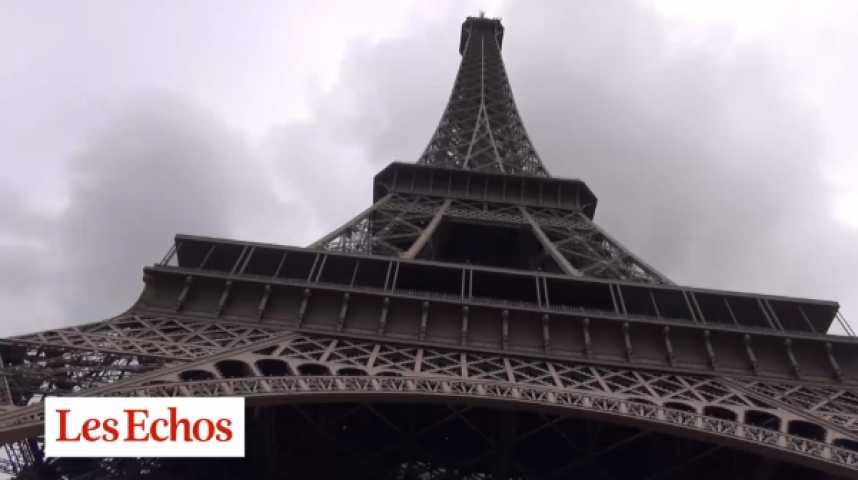 Illustration pour la vidéo Dans les coulisses de la Tour Eiffel