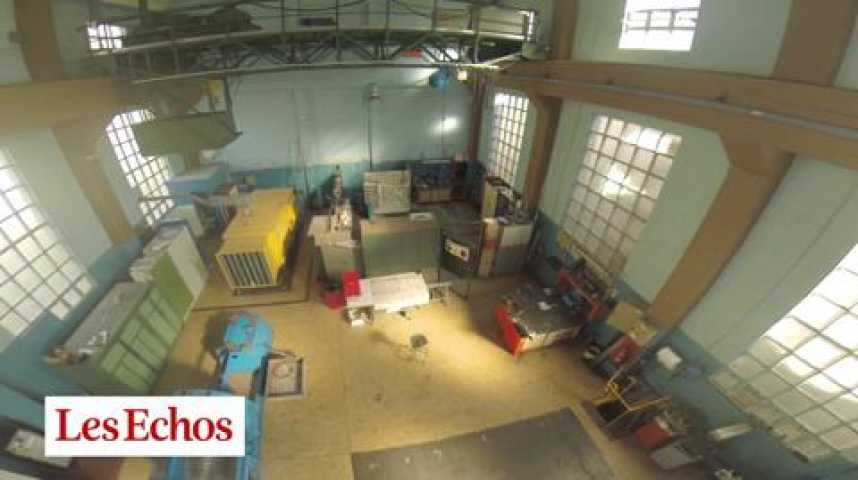 Illustration pour la vidéo Aeronautique : en drone, au coeur de la soufflerie de l'Onera, à Modane (Savoie)