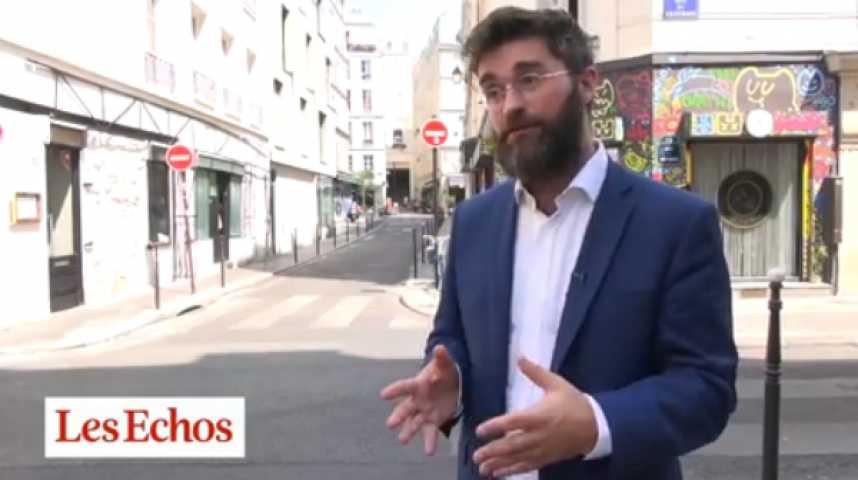 """Illustration pour la vidéo Paris : des pop-up stores pour repeupler """"La Jeune Rue"""""""