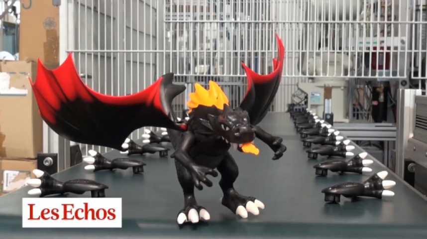 Illustration pour la vidéo Reportage dans les coulisses de Playmobil, l'usine à rêves de Nuremberg