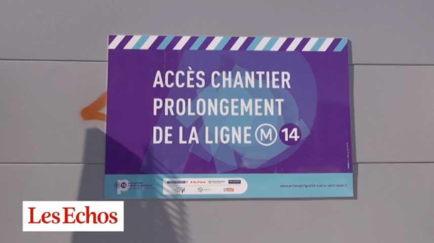 Illustration pour la vidéo Métro parisien : les travaux de prolongement de la ligne 14 vont démarrer