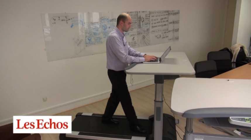 """Illustration pour la vidéo Marcher en travaillant : les """"walking desks"""" font leur apparition dans l'entreprise"""