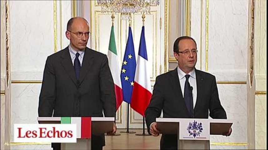 Illustration pour la vidéo UE : Paris-Rome, nouvel axe fort ?