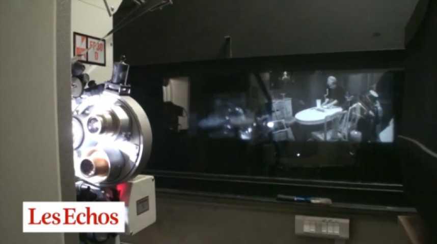 """Illustration pour la vidéo P. Werner (projectionniste) : """"Comme Molière sur scène, je mourrai dans une salle de cinéma"""""""