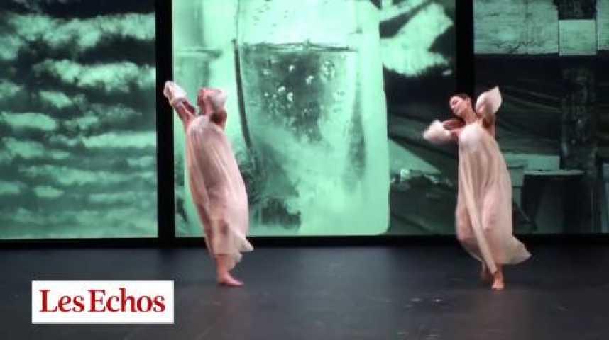Illustration pour la vidéo Danse : épure et clair-obscur à Garnier