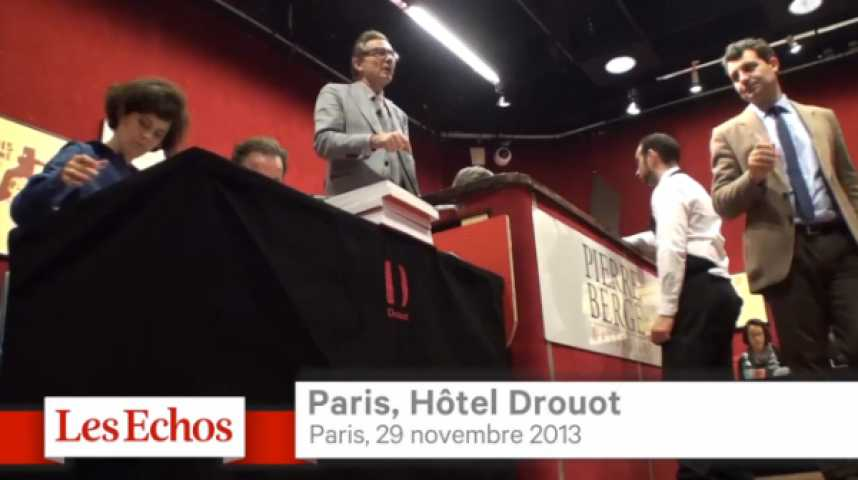 Illustration pour la vidéo Enchères : Villepin, Castro et le Tsar à Drouot…
