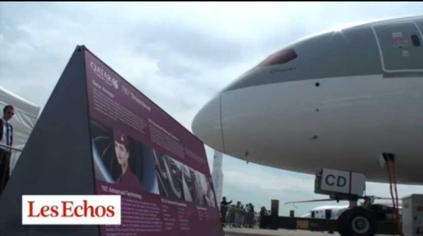 Illustration pour la vidéo Le Qatar va-t-il gagner la bataille du ciel ?