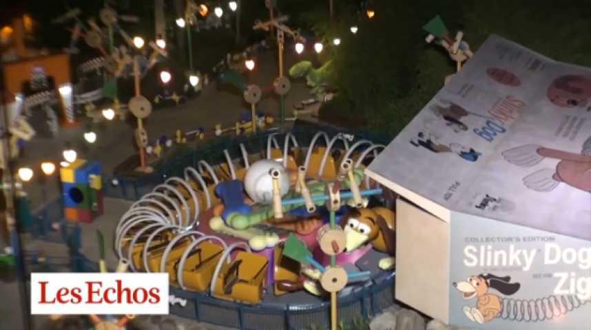Illustration pour la vidéo Dans les coulisses de... Disneyland Paris, la nuit