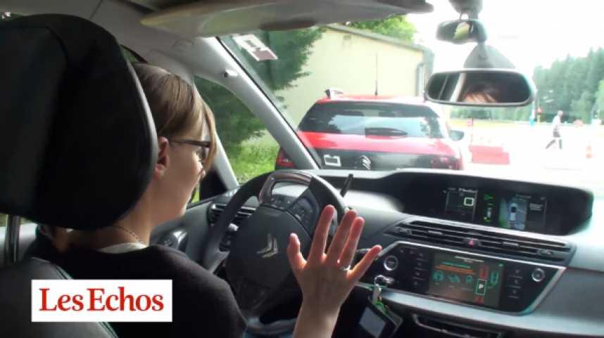 Illustration pour la vidéo Peugeot dévoile ses voitures autonomes