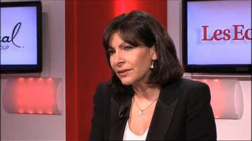 """Illustration pour la vidéo Anne Hidalgo (candidate à la mairie de Paris) : """"Je suis prête à discuter de l'ouverture des magasins le dimanche"""""""