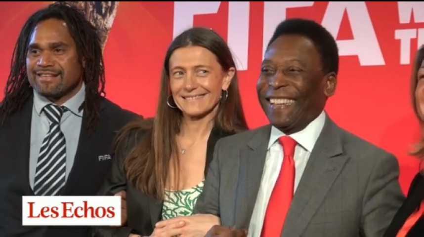 Illustration pour la vidéo Mondial 2014 : quand Coca mise sur le trophée, la santé et Pelé