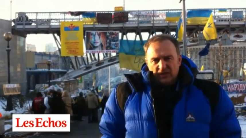 Illustration pour la vidéo Kiev : la grippe stratégique de Ianoukovitch