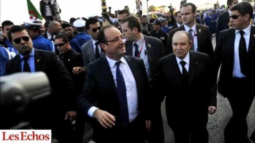 """Illustration pour la vidéo Hollande à Alger : pas de repentir, mais un partenariat """"d'égal à égal"""""""