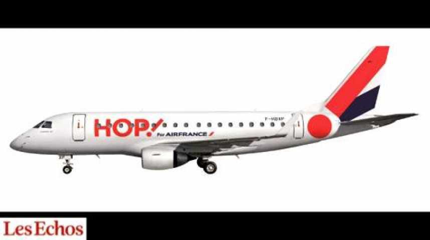 """Illustration pour la vidéo Air France : """"HOP"""" bénéficiaire... En 2015"""