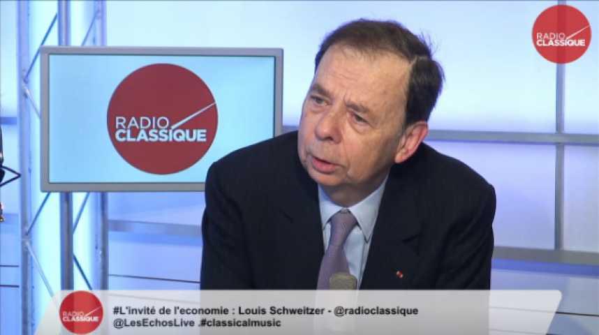 Illustration pour la vidéo Louis Schweitzer,  Commissaire général à l'investissement et  Président d'Initiative France