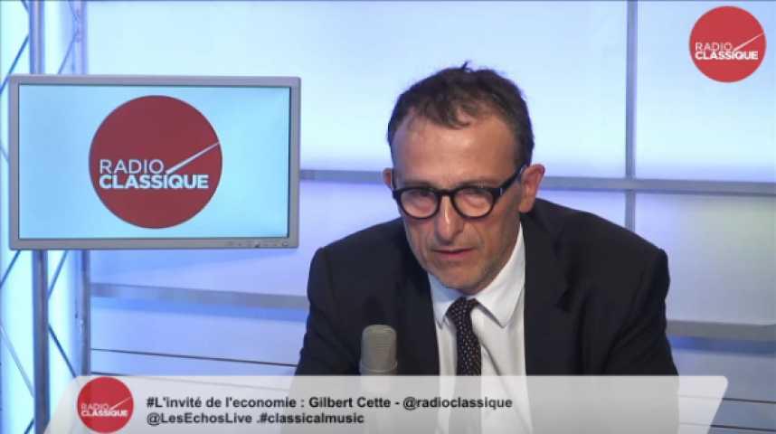 Illustration pour la vidéo Gilbert Cette, économiste et professeur à l'Université d'Aix-Marseille