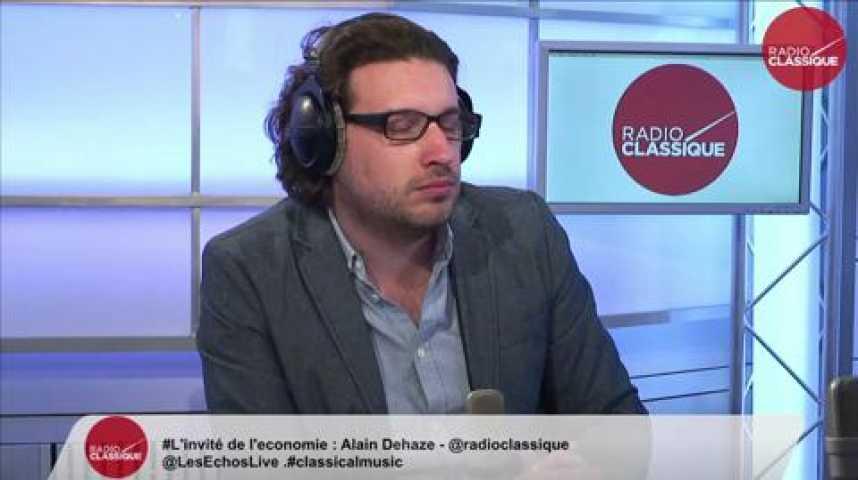 Illustration pour la vidéo Alain Dehaze, président du groupe Adecco France