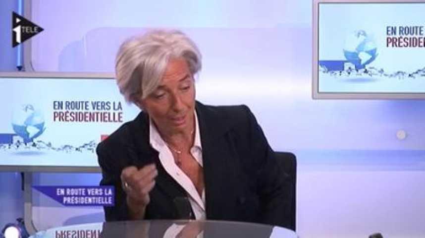 Illustration pour la vidéo Christine Lagarde était l'invitée de Guillaume Durand et Michael Darmon