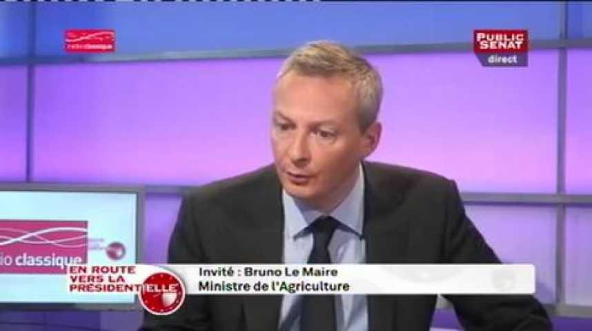 Illustration pour la vidéo Bruno Le Maire