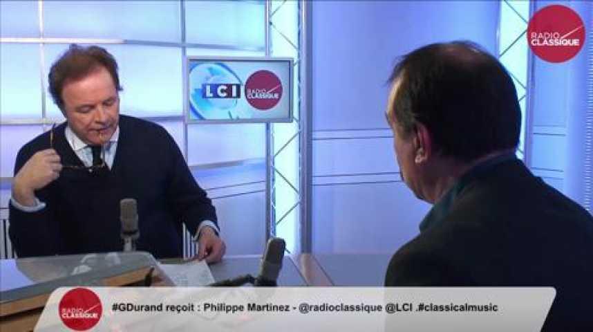 """Illustration pour la vidéo Philippe Martinez, Radio France : """"Il est urgent que Manuel Valls intervienne"""""""