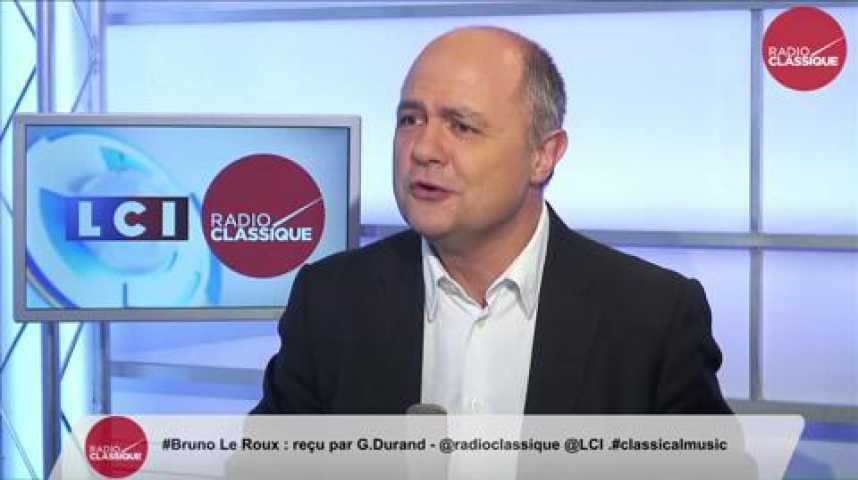 """Illustration pour la vidéo Bruno Le Roux, """"Nous ferons tout, absolument tout, pour qu'aucune des régions françaises ne soit gérée par le Front National."""""""
