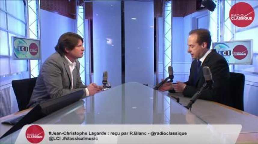 Illustration pour la vidéo Jean-Christophe Lagarde, «  Pour nous il ne s'agit pas de choisir entre la peste et le choléra. Le Front national, c'est la peste et le choléra réunis »