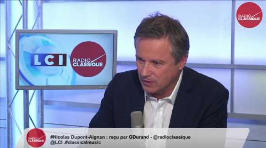 """Illustration pour la vidéo Nicolas Dupont-Aignan: """"Une majorité de Français ne veulent plus de François Hollande et de Nicolas Sarkozy. Il faut proposer autre chose."""""""