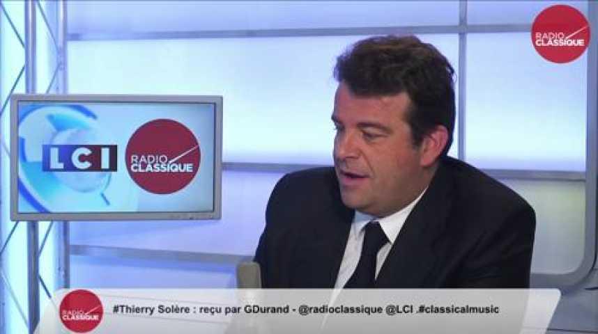 Illustration pour la vidéo Thierry Solère, à propos du voyage en jet privé de Manuel Valls : « Il ne se rend même plus compte du problème. (…) Un Premier ministre doit être branché sur la réalité »