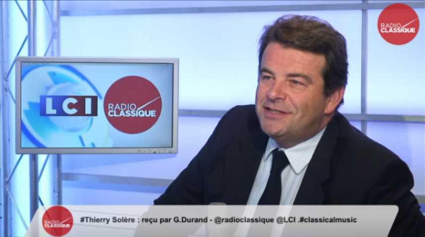 """Illustration pour la vidéo Thierry Solère, """"Macron dit la vérité, le statut de la fonction publique doit être réformé."""""""