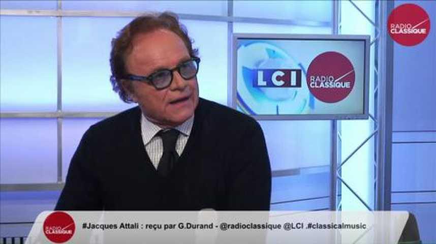 Illustration pour la vidéo Jacques Attali, « Je n'exclus pas de me présenter en 2017 aux élections présidentielles»